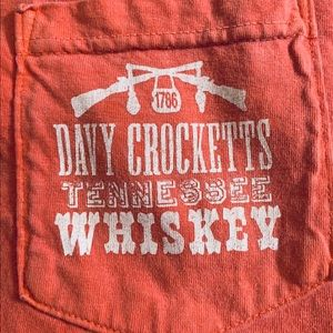 Men's Davy Crockett Whiskey T-shirt Size L